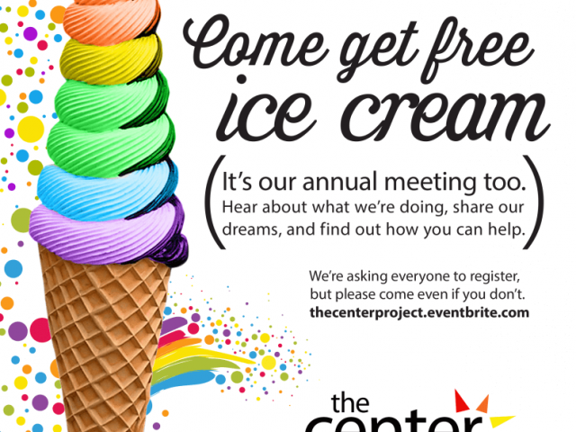 Ice Cream Social and Annual Meeting flyer