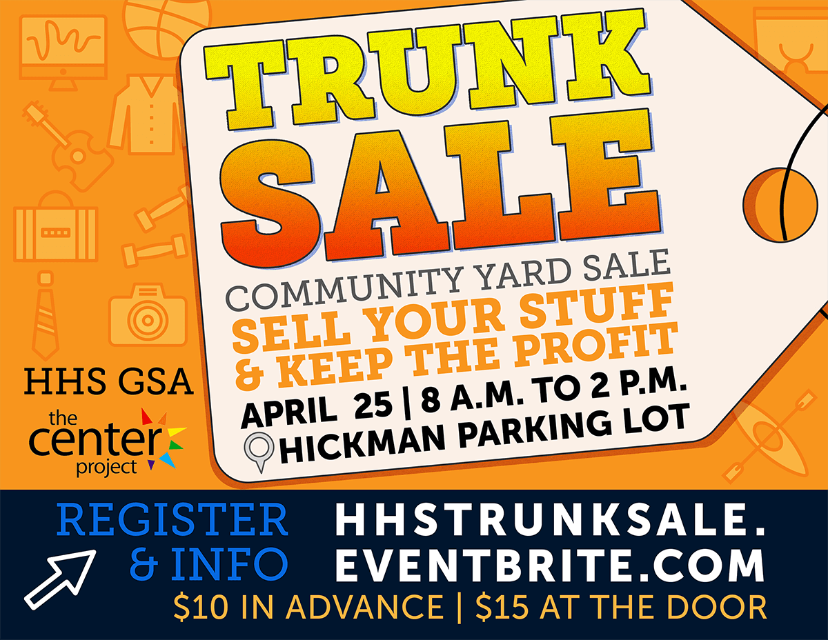 Trunk (Rummage) Sale Flyer