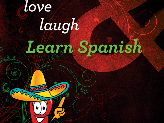 Book Cover for Spanish for Living Textbook