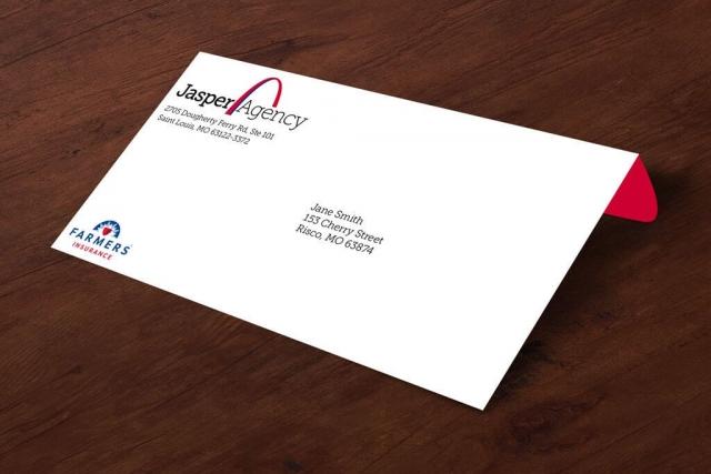Jasper Agency #10 Envelope