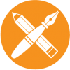 Pen-and-Pencil-Circle